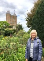 Christine at Sissinghurst