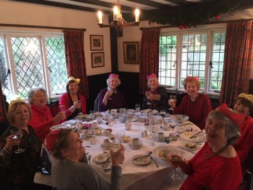 Cranbrook and Hawkhurst Christmas meal