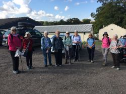 Dover Inner Wheel Club walk and dine for Air Ambulance