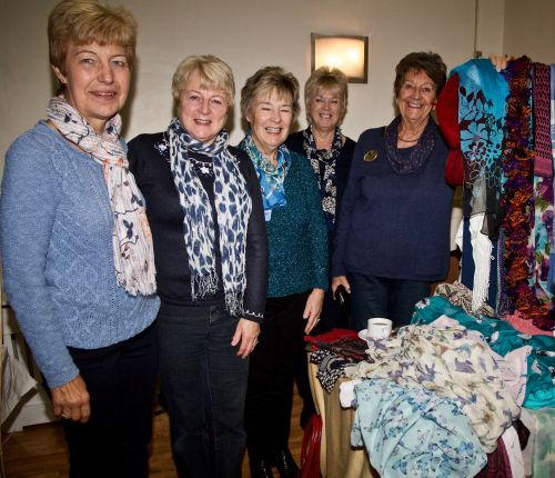 Broadstairs Scarf Stall