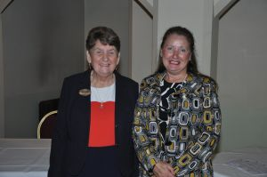 Lily Doody and Jacquie Agnew of Westgate and Birchington Club