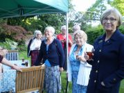 Pimms in garden at Eastbrne