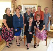 Rochester club members with Dc Hazel and IPDC Sheila