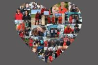 S, S and K Air Ambulance heart collage