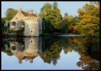 Scotney Castle in the Autumn Evening Light by Christina Bentley