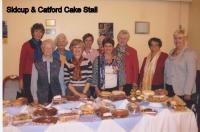 Sidcup and Catford Cake Stall
