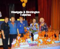 Westgate and Birchington Toiletries Tombola