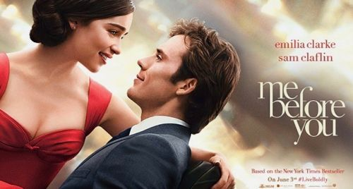 me before you - emilia Clarke and sam claflin